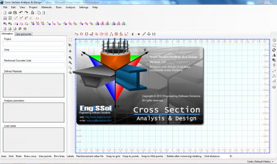 Cross Section Analysis & Design application