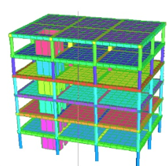 Shell element support for 3D Frame Analysis Library