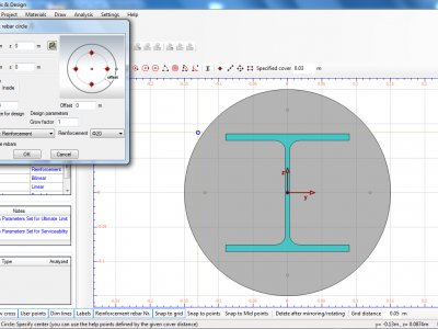 Features of Cross Section Analysis & Design software